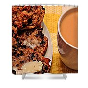 Snack Time 3 Shower Curtain
