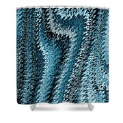 Snake Abstract Shower Curtain