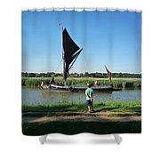 Snape Maltings Shower Curtain