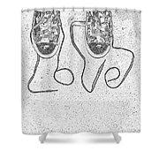 Sneaker Love 2 Shower Curtain
