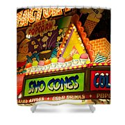 Sno Cones 4165 Shower Curtain