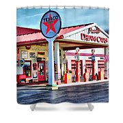 Snook's Classic Cars Shower Curtain