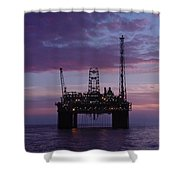 Snorre At Dusk Shower Curtain