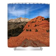 Snow Canyon 1 Shower Curtain