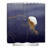 Snow Weed Shower Curtain