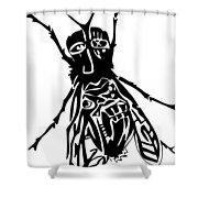 So Fly Shower Curtain