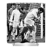 Soccer Match, C1970 Shower Curtain by Granger