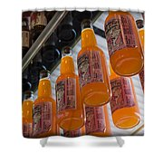 Soda Bottles Shower Curtain