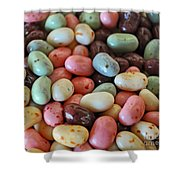 Soda Fountain Jelly Bellies Shower Curtain