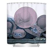 Soft Hats  Shower Curtain