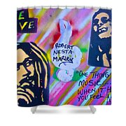 Soft Marley Shower Curtain