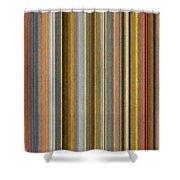 Soft Stripes Ll Shower Curtain