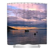 Soft Water Metal Shower Curtain