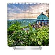 Sokolski Monastery Shower Curtain