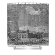 Solar Eclipse, 1858 Shower Curtain