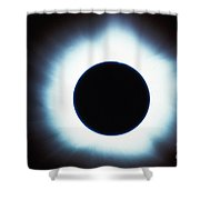 Solar Eclipse Shower Curtain