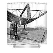 Solar Engine, 1884 Shower Curtain