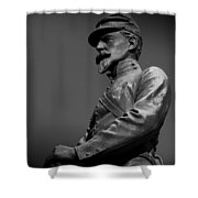 Soldier In Bronze  Shower Curtain