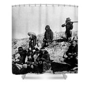 Soldiers And Scouts Shower Curtain