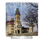 Soldiers Home And Brick Shower Curtain