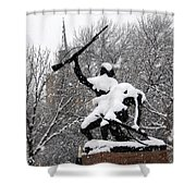 Soldiers In The Snow Shower Curtain