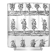 Soldiers: Infantry Drill Shower Curtain