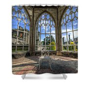Solitary Conservatory Shower Curtain