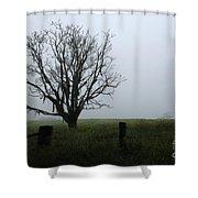 Solitude In Queensland Shower Curtain