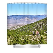 Solitude With A View - Carson City Nevada Shower Curtain