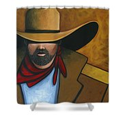 Solo Cowboy Shower Curtain