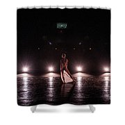 Solo Dance Performance Shower Curtain by Scott Sawyer