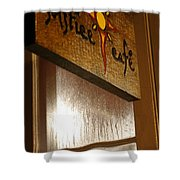 Solstice Cafe Shower Curtain