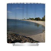 Sombrero Beach Shower Curtain
