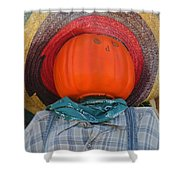 Sombrero Scarecrow Shower Curtain