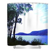 Some Sound Mt Desert Island Me Shower Curtain