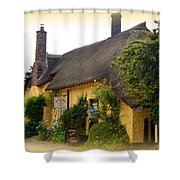 Somerset Tea Room Shower Curtain