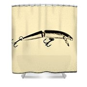 Something Fishie Going On Shower Curtain