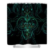 Something From Below Fx  Shower Curtain