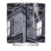 Something Wicked - Cross Your Eyes And Focus On The Middle Image Shower Curtain