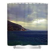 Somewhere Beyond The Sea 1 Shower Curtain