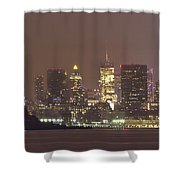 Song Of Liberty Shower Curtain