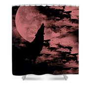 Song Of The Wolf  Shower Curtain