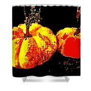 Sonic Pumpkins Shower Curtain