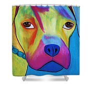 Sonny Blu Shower Curtain