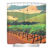 Sonoma Vinyard Shower Curtain