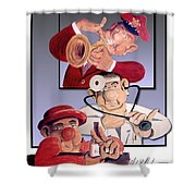 Sons Of Gs Bolivoufs Shower Curtain