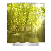Soothing Rays Shower Curtain