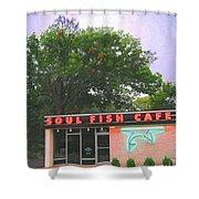 Soul Fish Shower Curtain