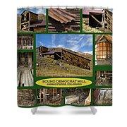 Sound Democrat Mill Compilation Shower Curtain