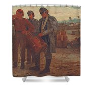 Sounding Reveille Shower Curtain